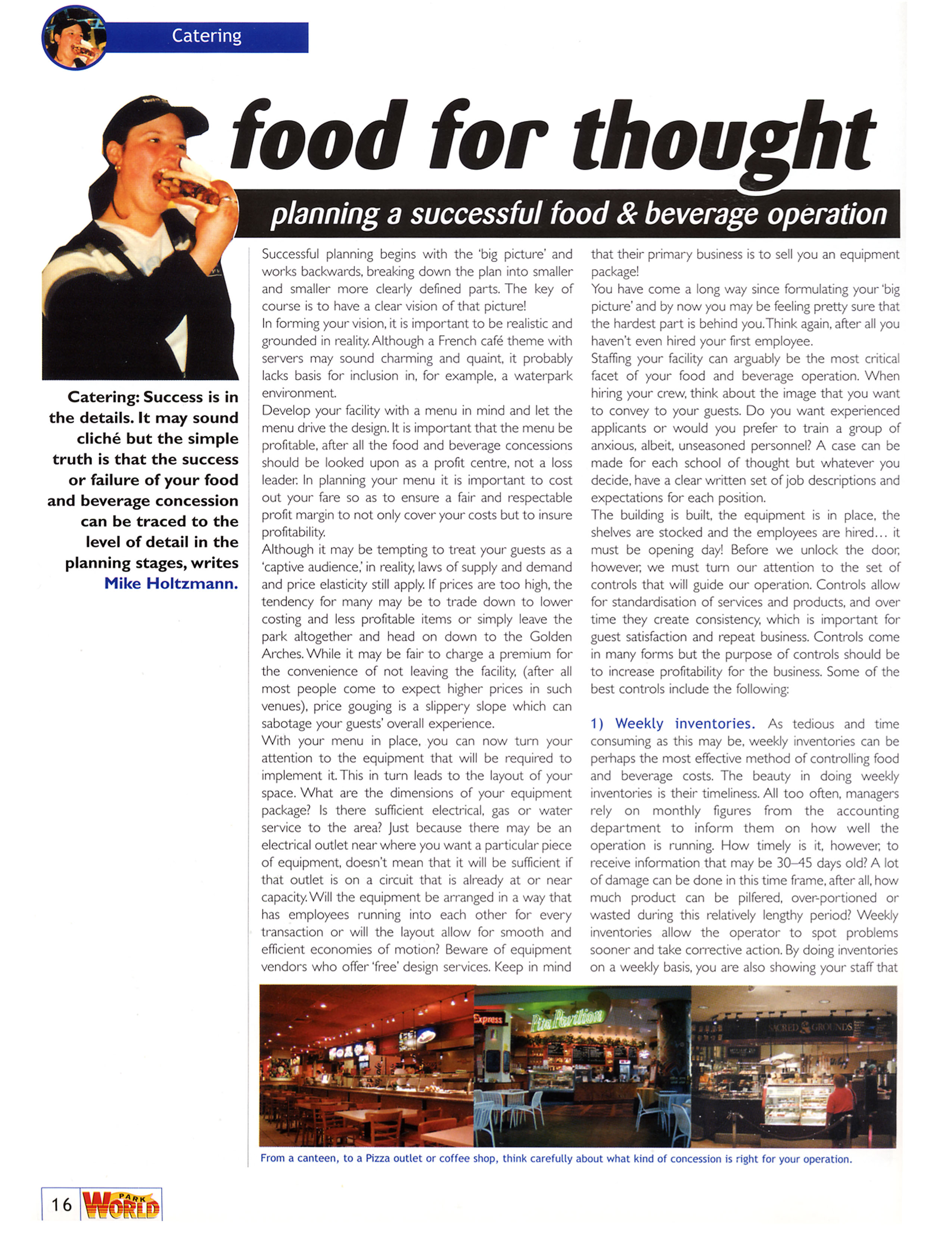 food for thought kitchen design and food and beverage consulting